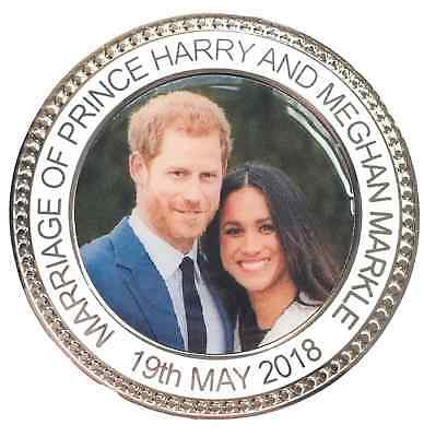 Marriage of Prince Harry & Meghan Markle 19th May Commemorative Coin