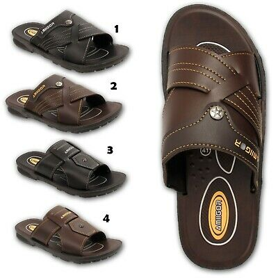 d2b48bacd375 Mens Smart Sandals Casual Sports Flip Flops Mules Shoes Size UK 7 8 9 10 11