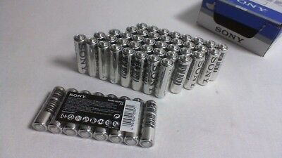 48 x Sony AA Batteries - New Ultra SUM3-NUP8A - Exp Date 02/2020 #ODoor1