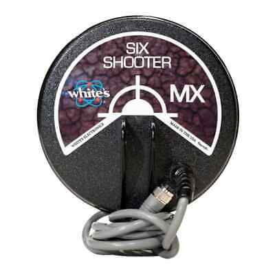 """Whites MX Six Shooter 6"""" Concentric Coil Metal Detector Coil Loop 802-3266-1"""