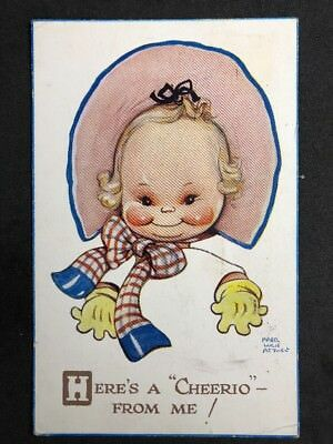 Vintage Postcard: Artist Signed: Mabel Lucie Attwell #A532: Cheerio 999 1948