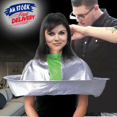 Adult Style Hair Cutting Apron Cape Cloak Umbrella Cape Salon Barber Hairdresse