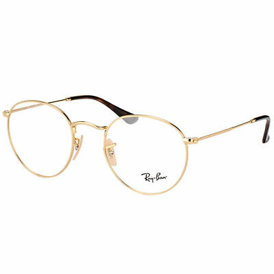 de2707864f8 RAY-BAN ROUND METAL RX 3447V 2991 Gold On Top Black Round Metal ...