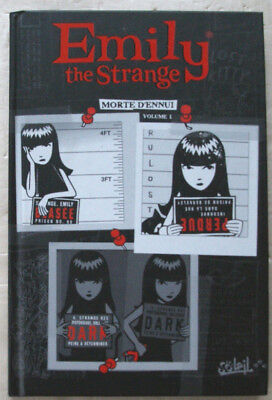 Emily the Strange Morte d'ennui Vol 1 Buzz PARKER éd Soleil