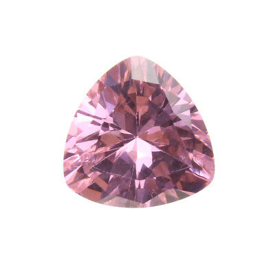 12mm Pink Sapphire Unheated Trillion Cut DIY Making Loose Gemstone