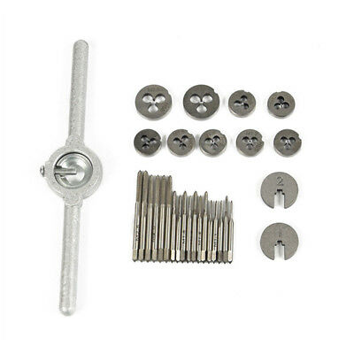 HSS Wrench Handle Tap and Die Set for Watch Making Small Engineering Work