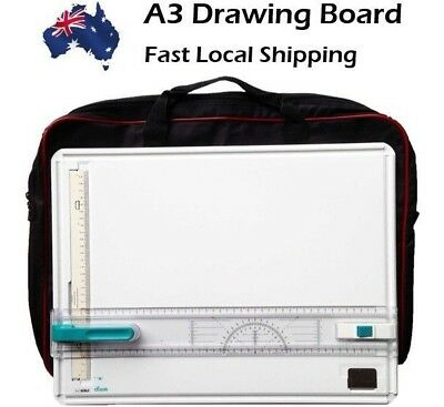 A3 Drawing Board Free Bag & Set Square worth $30 Noble Brand High Quality