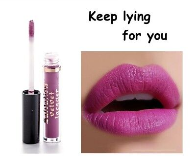 Makeup Revolution Salvation Velvet Lip Lacquer * Keep Lying For You * Nuovo