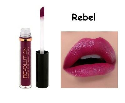 Makeup Revolution Salvation Velvet Lip Lacquer * Rebel * Nuovo
