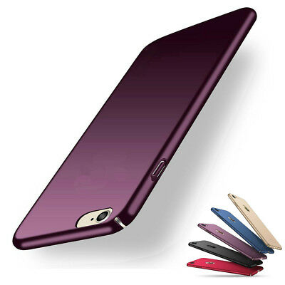 Slim Thin Cover Hard Back Case Apple iPhone 8 7 Plus