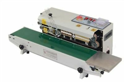 220V Continuous Sealer Plastic Bag Band Sealing Machine Automatic FR770 hy