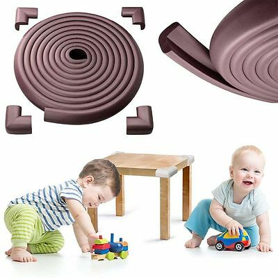 Baby Toddler Safety Proofing Glass Table Edge Guard Protector Corners 4M Cushion