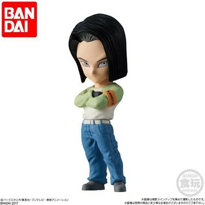 Bandai Dragon Ball Z Super Advage Adverge Part 6 Mini Figure Android 17 Lapis