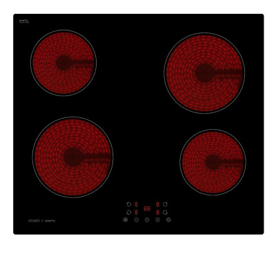 AKAI 59cm CERAMIC GLASS TOUCH CONTROL ELECTRIC COOKTOP / COOK TOP / COOKER