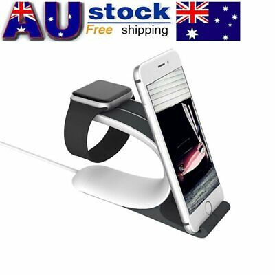 AU Charging Dock Station Charger Holder Stand for Apple Watch iWatch iPad iPhone