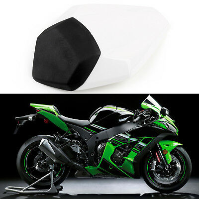 Rear Seat Cover Cowl For Kawasaki Nijia ZX10R ZX10-R 2016 White AU