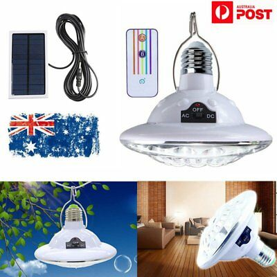 22LED Solar Hanging Tent Light Outdoor Garden Camping Remote Control Lamp Lights
