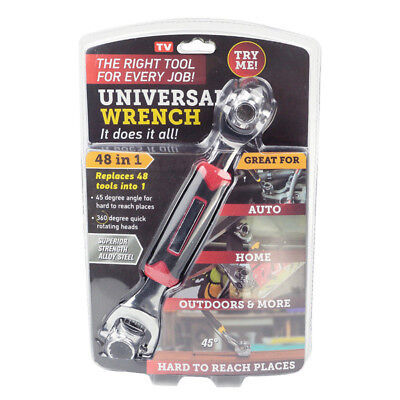 Multifunction Adjustable Socket Wrench 48 In 1 Universal Wrench Spanner
