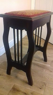 Antique Vintage Piano Stool Seat - Reduced Price
