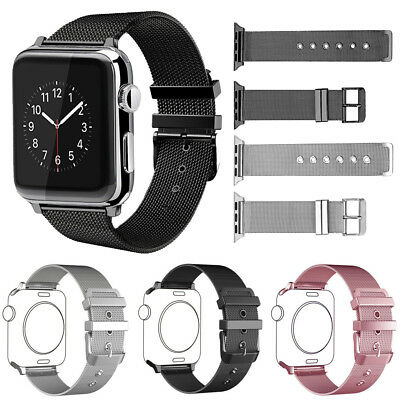 Pour Apple Watch Bracelets de montre Acier Inoxydable Strap iWatch Band 38 /42mm