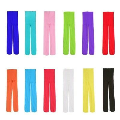 Candy Color Toddler Baby Girls Casual Tights Stretch Pantyhose Tights Stockings