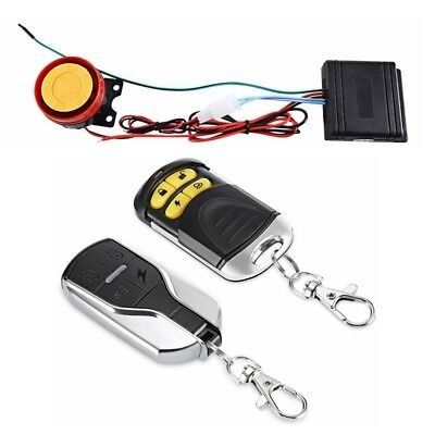 Univarsal Motorcycle Anti-theft Vibration Alarm Security System Remote Control