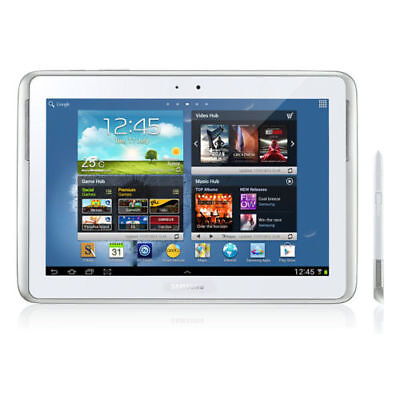 Samsung Galaxy Note 10.1 GT-N8010 16GB, White, Wi-Fi ONLY Android Tablet AU
