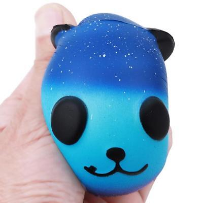 Galaxy Baby Cream Jumbo Scented Squishies Slow Rising Squeeze Strap Kids Toy Z