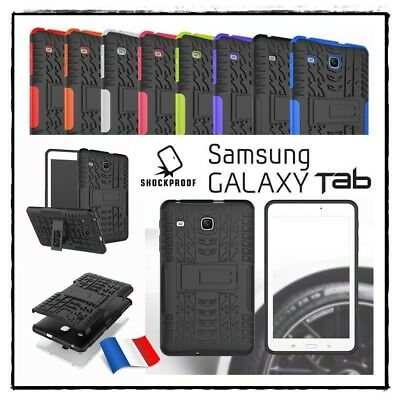 Etui Coque Housse Antichocs Shockproof hybrid Case Samsung Galaxy Tab E 8.0