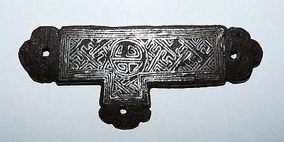 Tibetan decorative element from Harness or Armor