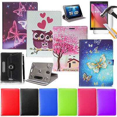 """Luxury Leather Case Cover For For Lenovo Tab 3 TB-X103F 10.1"""" With Tempered glas"""