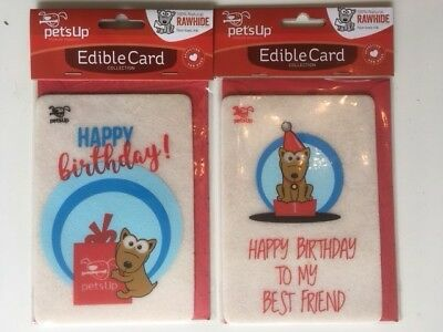 Edible Birthday Card for Dogs - Dog Treat Birthday