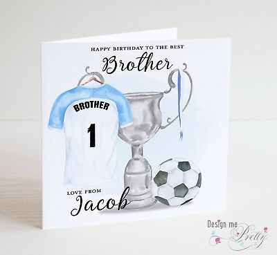 Football Birthday Cards Musical Greeting Cards Dad Brother Kids