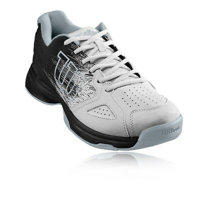 Wilson Mens Kaos Stroke All Court Shoe Black White Sports Tennis Breathable