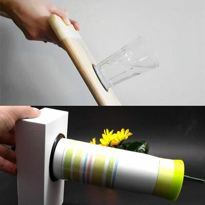 2pcs Magical Fixate Gel Pads Strong Stick Wall Sticker Portable Sticky Holder SY