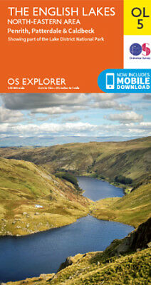 Explorer OL5 map:The English Lakes North East Area