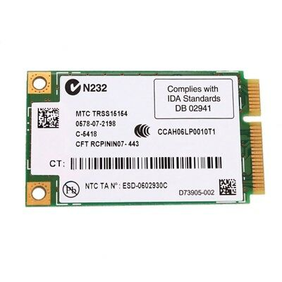 New Wifi Wireless Card 4965AGN MM1 for Dell Latitude D520 D530 D630 D820 C2R6