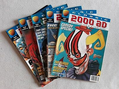 5 Issue Run of Classic 2000 AD No.s 11 - 15