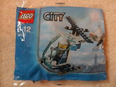 Lego City Lego Police Hélicoptère Set 30222 Brand New Factory Sealed