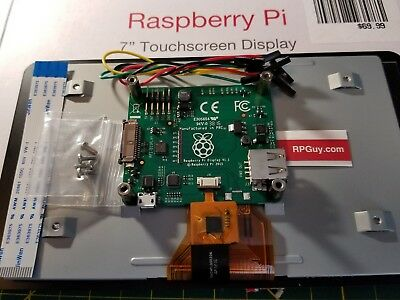 Raspberry Pi 7 inch Touch Screen LCD Display V1.1 899-7466