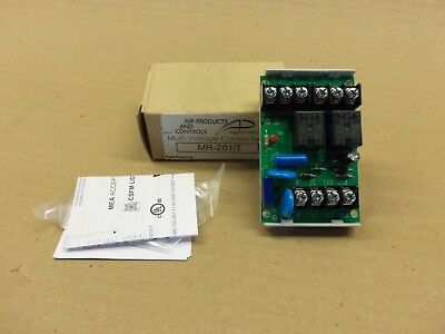 New in Box Air Products and Controls Multi-Voltage Control Relay MR-201/T