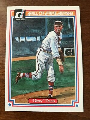 1983 Donruss Hall of Fame Heroes #29 Dizzy Dean Mint