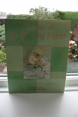 The Tale of Jeremy Fisher By Beatrix Potter with 26 full colour stickers