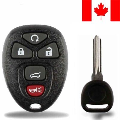 1x New Replacement Keyless Entry Remote Control Key Fob For Chevy Buick GMC