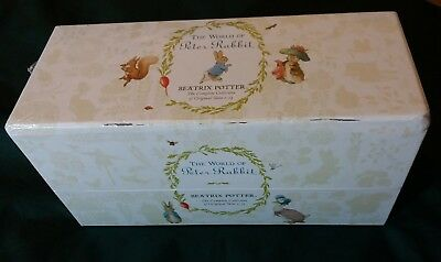 New The World of Peter Rabbit Complete Collection Beatrix Potter 23 Books
