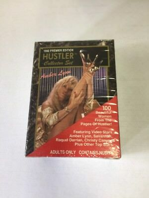 Vintage 1992 Hustler Factory Sealed Collector Trading Card Set Series 1