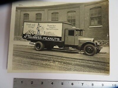 Planters Peanuts 1920s original photo/addvertising Sign paint shop store display