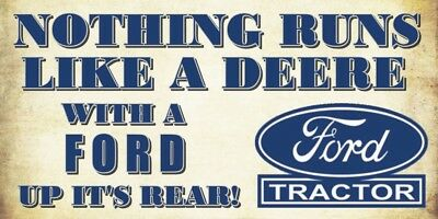 Ford vs Deere Decal