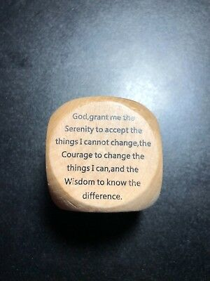 New Religious Dice,Die,Cube Prayer Cube 6 Prayers Wooden God Lord Jesus Father