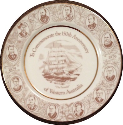 Westminster Collectors plate 150th Anniversary Of Western Australia RARE FIND